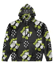 smoke dice  Men's All Over Print Hoodie front