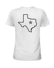 JAMBJ Texas Teeshirts Ladies T-Shirt back