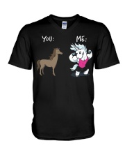 YOU ME  V-Neck T-Shirt thumbnail