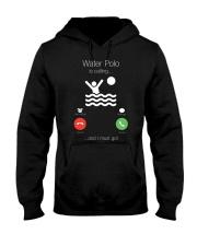 Water Polo Hooded Sweatshirt front