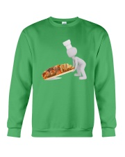 bread-cut-baker-pastry-chef Crewneck Sweatshirt thumbnail