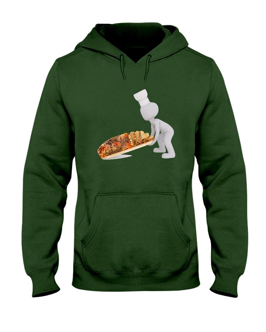 bread-cut-baker-pastry-chef Hooded Sweatshirt