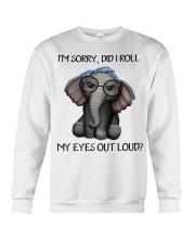 my eyes out loud Crewneck Sweatshirt thumbnail