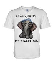 my eyes out loud V-Neck T-Shirt thumbnail