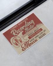 "Personalized Recording Studio Doormat 34"" x 23"" aos-doormat-34-x-23-lifestyle-front-09"