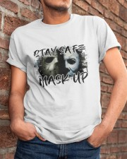 Stay Safe Classic T-Shirt apparel-classic-tshirt-lifestyle-26