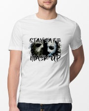 Stay Safe Classic T-Shirt lifestyle-mens-crewneck-front-13