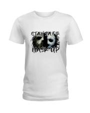 Stay Safe Ladies T-Shirt thumbnail