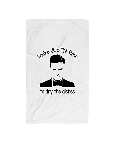 Youre J time to dry the dishes