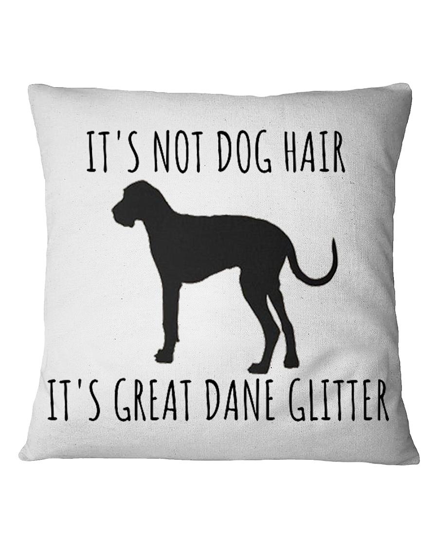 GREAT DANE GLITTE Square Pillowcase