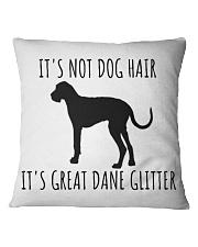 GREAT DANE GLITTE Square Pillowcase front