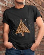 Dachshund Christmas Tree Classic T-Shirt apparel-classic-tshirt-lifestyle-26