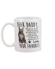 Staffordshire Bull Terrier Mug back