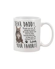 Staffordshire Bull Terrier Mug front