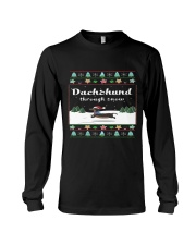 Selling fast -Dachshund Through Snow Long Sleeve Tee tile