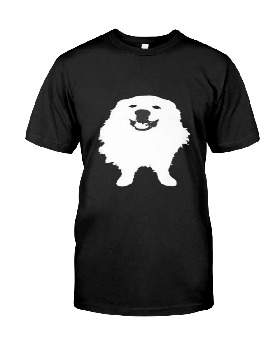Great Pyrenees Dog Smiling  Classic T-Shirt