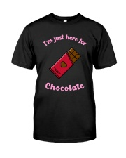 I'm Just Here for Chocolate Premium Fit Mens Tee thumbnail