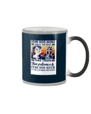 save dog moms have tattoos Color Changing Mug color-changing-right