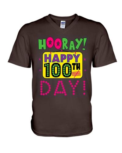 100th Day Hooray Celebration Long Sleeve Shirt