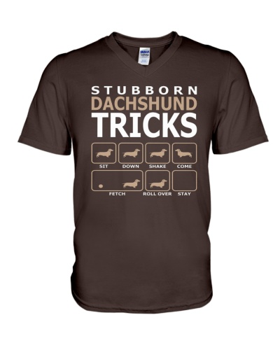 Stubborn Dachshund Tricks TShirt