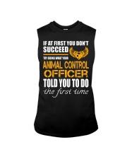 STICKER ANIMAL CONTROL OFFICER Sleeveless Tee thumbnail
