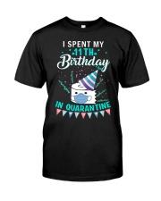 11th Birthday in Quarantined Shirts Premium Fit Mens Tee thumbnail