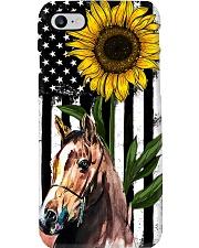 Farm Case - Beautiful Sunflower with Horse Phone Case i-phone-7-case