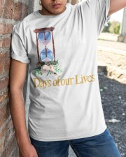 Stay home and watch day of our lives shirt Classic T-Shirt apparel-classic-tshirt-lifestyle-27