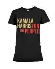 Kamala harris For The People Premium Fit Ladies Tee thumbnail