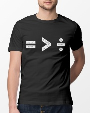Equality Is Greater Classic T-Shirt lifestyle-mens-crewneck-front-13