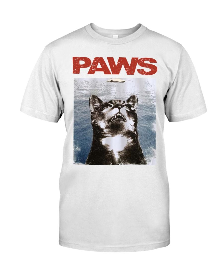 Cat Paws Jaws Shirt Classic T-Shirt