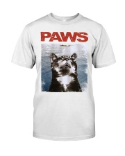 Cat Paws Jaws Shirt Classic T-Shirt front