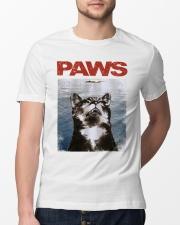Cat Paws Jaws Shirt Classic T-Shirt lifestyle-mens-crewneck-front-13