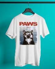 Cat Paws Jaws Shirt Classic T-Shirt lifestyle-mens-crewneck-front-3