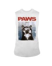 Cat Paws Jaws Shirt Sleeveless Tee thumbnail