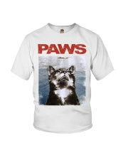 Cat Paws Jaws Shirt Youth T-Shirt thumbnail