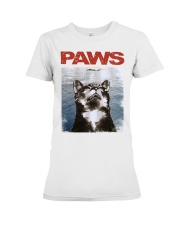 Cat Paws Jaws Shirt Premium Fit Ladies Tee thumbnail