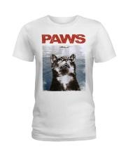 Cat Paws Jaws Shirt Ladies T-Shirt thumbnail