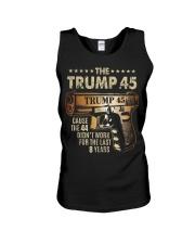 The Trump 45 Unisex Tank thumbnail