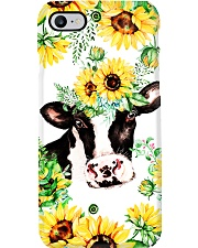 Farm Case - Beautiful Sunflower with Cow 2 Phone Case i-phone-7-case