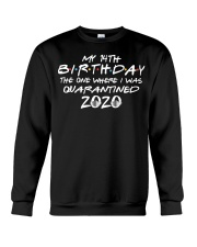 Quarantine Birthday 14th Crewneck Sweatshirt thumbnail
