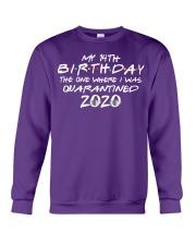 Quarantine Birthday 14th Crewneck Sweatshirt front