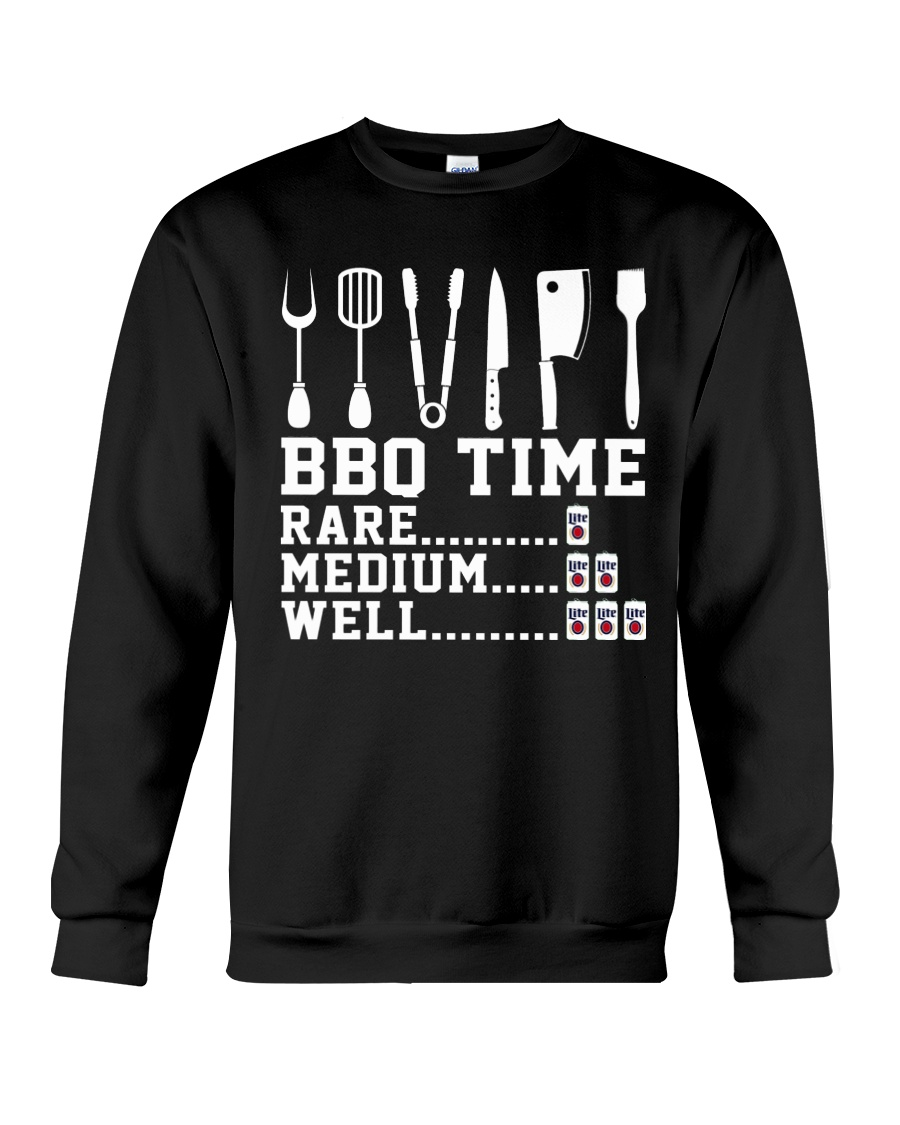 BBQ Time Shirt Crewneck Sweatshirt