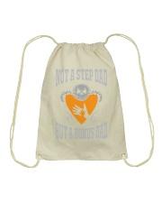 step dad t shirt Drawstring Bag thumbnail