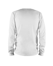 Problem Solved Funny Disk Jockey DJ Long Sleeve Tee back