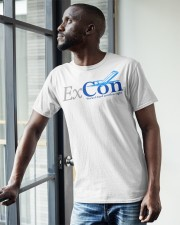 Ex Con  Classic T-Shirt apparel-classic-tshirt-lifestyle-front-38