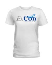 Ex Con  Ladies T-Shirt thumbnail