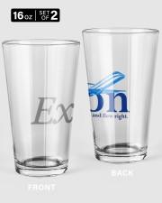 Ex Con  16oz Pint Glass - 2 pieces thumbnail