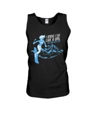I Know I Ski Like A Girl T-Shirt - Skiing T Unisex Tank thumbnail