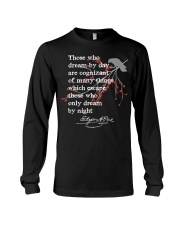 Edgar Allan Poe Shirt Writer Gift Poet E Long Sleeve Tee thumbnail